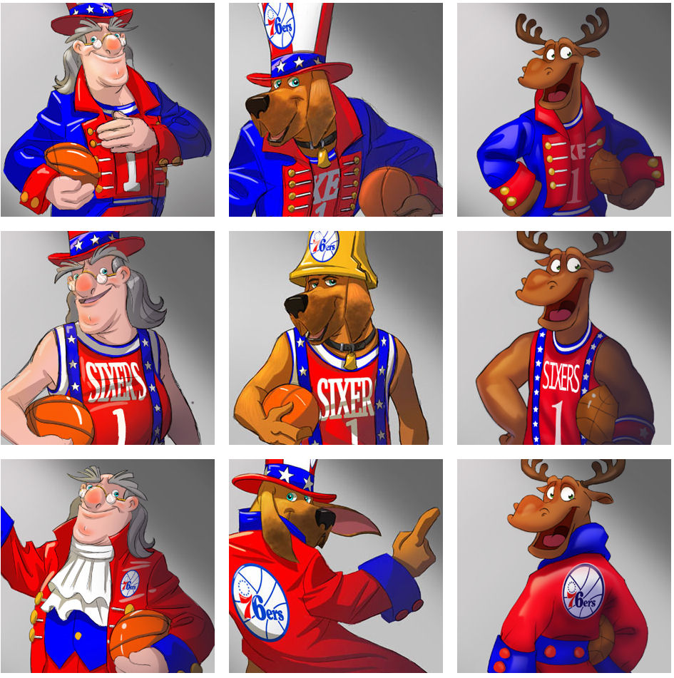 SIXERS MASCOT SEARCH (or lack thereof...)  (2/3)