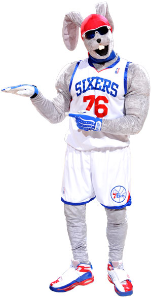 SIXERS MASCOT SEARCH (or lack thereof...)  (1/3)