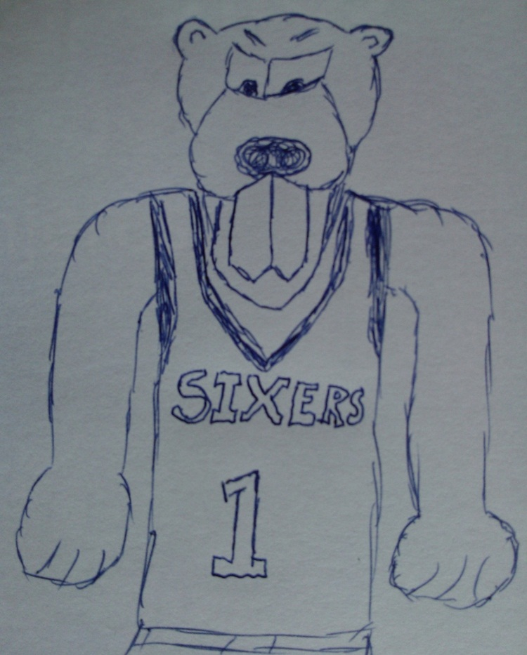 THE ONGOING SEARCH FOR A 76ers MASCOT IS OVER (5/5)